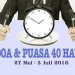 Doa Puasa 40 Hari 2016